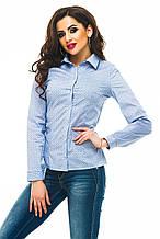 Рубашка 240 синяя