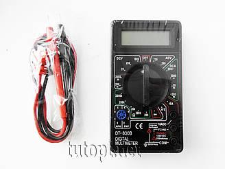 Мультиметр DT-830В (Тестер), типы измерений - DCV, АCV, DCA, АCA, Ом.