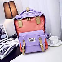 Стильный объемный городской рюкзак