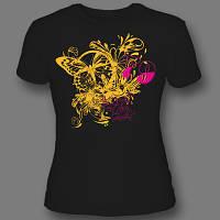 Яркая печать на футболках шелкотрафарет