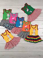 Платье детское летнее для девочки Арабелла, хлопок, р.р.26-34, фото 1