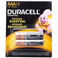 Элемент питания Duracell AАA (мини) 2 шт
