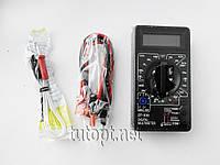 Мультиметр DT-838 (Тестер), типы измерений - DCV, АCV, DCA, АCA, Ом, Звуковая прозвонка, Температур