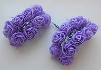 Троянда фіолетова з фатином (SV-753 або SV-892)