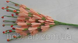 Прутики з квітами із фоамірану  № 05