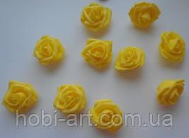 Бутони троянди 40 мм  № 02 жовті
