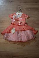 "Красивое платье для девочки 1-4 лет, ""Mali-kon"" Турция"