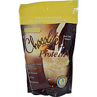 HealthSmart Foods, Inc., Шоколадный протеин, Банановый крем,  Choco-Rite Protein Powder, 14.7 унции (418 г)
