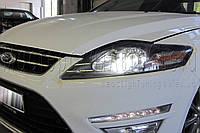 "Ford Mondeo - установка биксеноновых линз Infolight Ultimate +50% LIGHT G5 2,5"" H1"