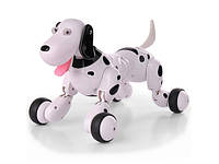 Интерактивная детская игрушка робот-собака  на радиоуправлении исполнит более 20 команд ребенка