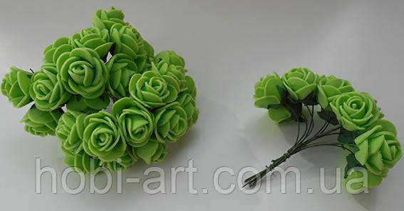 Троянда латексна салатова 22мм