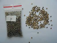 Бісер китайський  2-3 мм , пакетик 20-25г.,  № 039