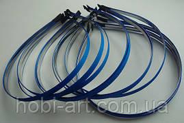 Обруч 7мм метал репс синій