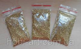 Глітер №01  10 грам (золото просте)