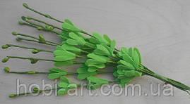 Прутики з квітами із фоамірану  № 01