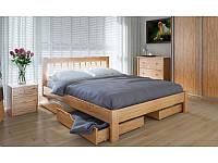 """Деревянная кровать """"Вилидж"""" с ящиками"""