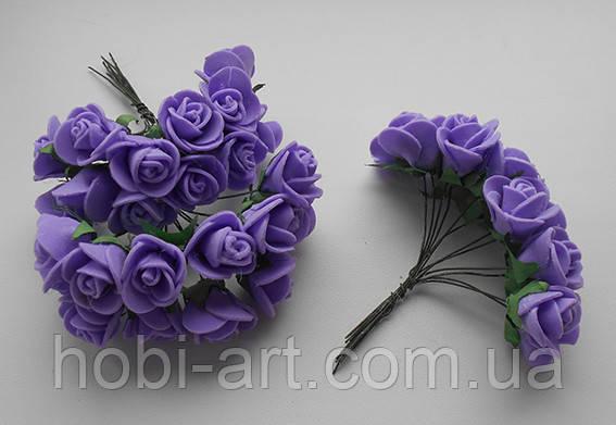Троянда латексна фіолетова 15мм