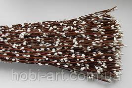 Прутики білі 40см (коричнева основа)