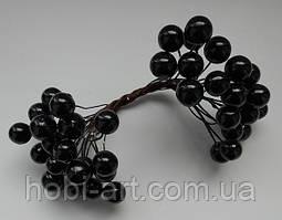 Калина глянцева  1см  № 01 чорна (ТІА-0135)