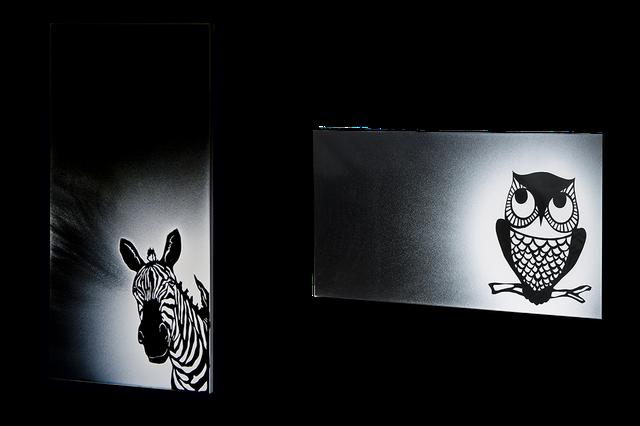 Дизайн-радиаторы «Сомалийская ночь» и «Совушка»
