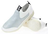 Женские кроссовки из эко кожи от польского производителя