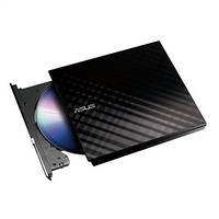 Привод ASUS SDRW-08D2S-U LITE DVD+-R/RW USB2.0 EXT Ret Slim Black, SDRW-08D2S-U_LITE/BLK