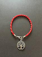 Браслет красная нить с оберегом Древо жизни- это символ символ долголетия, плодородия, здоровья