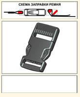 Профессиональная швейная фурнитура. Фастекс 20 мм. (материал ПОМ)