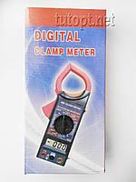 """Мультиметр """"Digital"""" (Тестер), VC266, типы измерений - DCV, АCV, DCA, АCA, Ом."""
