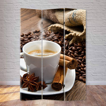 """Ширма """"Ароматный кофе"""", фото 2"""