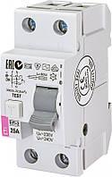 Реле дифференциальное (УЗО) ETI EFI-2 25/0,03 тип AC (10kA), 2062122