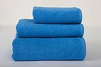 Полотенце отельное махровое Lotus 70*140 синее