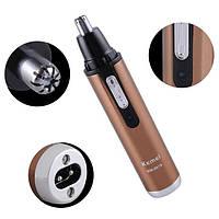 Триммер аккумуляторный Kemei  KM-6619  для носа  и ушей