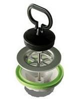 Слив Simplex 1''1/4, с резиновой пробкой, для умывальников и биде