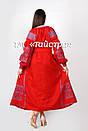 Вышитое платье  бохо вышиванка лен, этно, бохо-стиль, вишите плаття вишиванка, Bohemian,стиль Вита Кин, фото 3