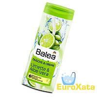 Крем-Гель для душа BALEA Lime & Aloe Vera