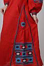 Вышитое платье  бохо вышиванка лен, этно, бохо-стиль, вишите плаття вишиванка, Bohemian,стиль Вита Кин, фото 6
