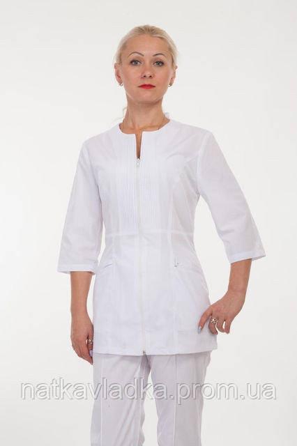 Женский медицинский костюм на молнии р.42-56, фото 1