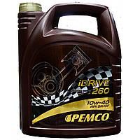 Всесезонное полусинтетическое моторное масло Pemco iDRIVE 260 SAE 10W-40,5L