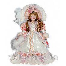 Порцелянова лялька Франсуаза (40 див.) в подарунковій коробці
