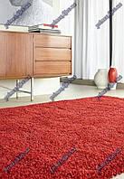 Высоковорсные ковры Шагги Люкс, Бельгия, цвет красный