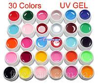 Набор цветных гелей 30шт. , фото 1