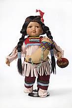 Декоративна етнічна лялька Індіанка (23 см)