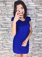 Женское стильное платье-прошва (2 цвета)