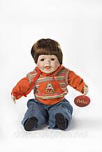Фарфоровая мимическая кукла Каспер