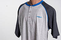 Donnay Baseball Neck T Shirt футболка мужская размер L ПОГ 54 см  MRSP  £7.99