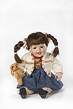 Фарфоровая мимическая кукла Бонни