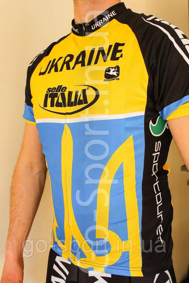 Велоформа Ukraina 2017, Форма для велосипеда, Велоодежда Украина