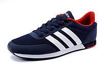 Кроссовки мужские Adidas Neo Sity текстиль темно-синие, р. 41
