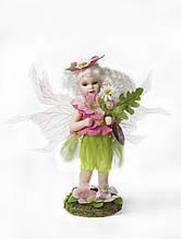 Розовая цветочная фея